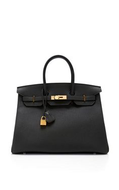 Fashion Month Must: a classic handbag: Hermes 35Cm Togo Leather Birkin by Heritage Auctions Special Collections Now Available on Moda Operandi