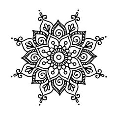 Henna drawings, art drawings, mandala design, mandala dots, zentangle p Easy Mandala Drawing, Mandala Art Lesson, Mandalas Drawing, Mandala Coloring Pages, Simple Mandala Tattoo, Simple Mandala Designs, Simple Coloring Pages, Mandala Sketch, Zentangles