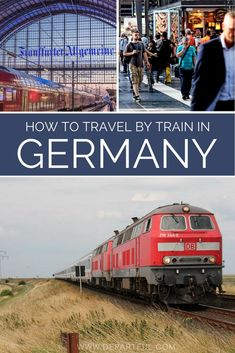 travel tip train Taking trains in Germany is an ideal way to get around the country. Like much of Europe, the train network in Germany is expansive, connecting large cities with small towns providing the opportunity for a variety of experiences Visit Germany, Germany Europe, Germany Travel, Travel Advice, Travel Quotes, Travel Tips, Travel Abroad, Travel Destinations, Africa Travel