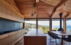 Adición de casa en Lorne, Australia - Austin Maynard Architects - foto: Peter Bennetts