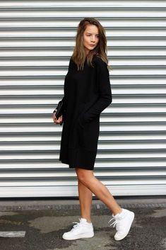 "new product 114f8 92c95 Der ""Sonntag-Wohlfühl-Look"" all is pretty leonie klara modeblog fashion all  · Zapatillas BlancasTenis BlancosEstilo ..."