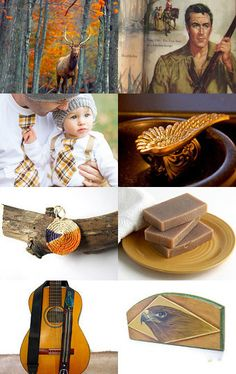 HUNTER GATHERER by Janet Long on Etsy--Pinned with TreasuryPin.com