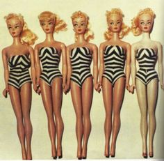 The Original - Barbie (Barbara Millicent Roberts, by the way)