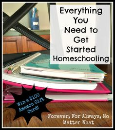 Everything You Need to Get Started Homeschooling