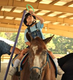 It takes a caring, hard working team of highly quailfied physical, occupational, and speech therapists, Certified Therapeutic Riding Instructors, along with dedicated volunteers and well-trained horses to make these programs successful!