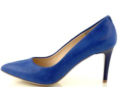 Spring Summer 2015, Stiletto Heels, Pumps, Model, Blue, Collection, Shoes, Fashion, Moda