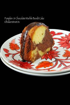 Pumpkin and Chocolate Marble Bundt Cake | Baker Street