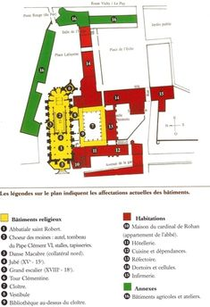 Les bâtiments abbatiaux - abbaye-chaise-dieu.com