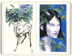 J.A.W. Cooper: Professional illustrator, fine artist, and adventurer | #TheGetty Iris — #Art via @gettymuseum