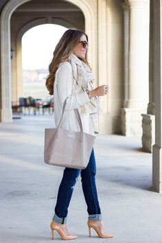 GiGi New York | The Teacher Diva Fashion Blog | Stone Teddie Tote