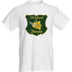 Harry Potter Holyhead Harpies Quidditch Team T-Shirt! For Cosplay or Everyday Wear! Great Gift for ANY Harry Potter Fan! S-XL Available!