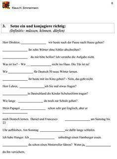 Konjugation Verben Aufgaben 2 | Pinterest | Verben, Arbeitsblätter ...