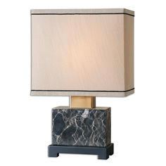 Uttermost Anadell Polished Marble Table Lamp