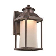 Trans Globe Lighting Southfield LED-40931 Outdoor Wall Lantern Rust - LED-40931 RT