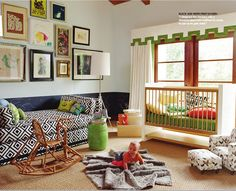 """Seriously Love this room...I know I will not be doing such a """"baby"""" decor next time around.  Something to grow into"""
