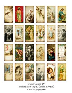 Antique Catholic Holy Cards