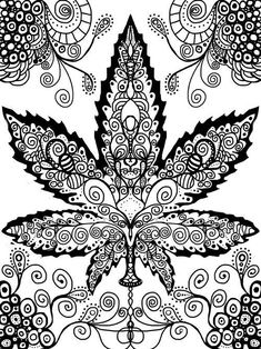 coloring pages weed.html
