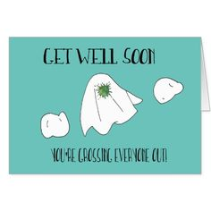 Get Well Soon - Funny Greeting Card
