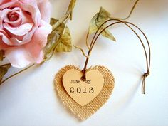 burlap tags - Google Search