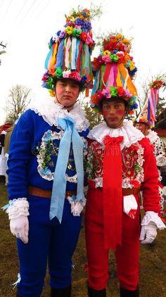 Masopust Carnival In Czech Republic Men In Costume Editorial Stock Photo - Image of gras, bohemia: 100777973 School Clubs, Aa School, Czech Republic, Mardi Gras, Harajuku, Carnival, Menswear, Bohemian, Stock Photos