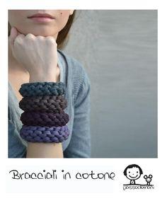 bracciali in cotone - Passodomani  www,facebook.com/pages/passodomani