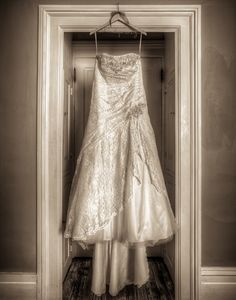 HDR Photo of 'The Wedding Dress' day of Wedding Shoot