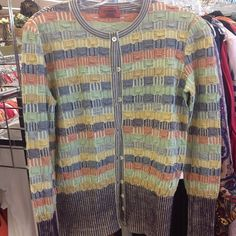 Missoni sweater, only $3.49 !!! #thriftfabulous