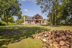 Timber framed dream home in Worcestershire exceeds couple's expectations Pivot Doors, Oak Doors, Oak Framed Buildings, Oak Frame House, Floor Slab, Victorian Cottage, Planning Permission, Garden Buildings, New Property