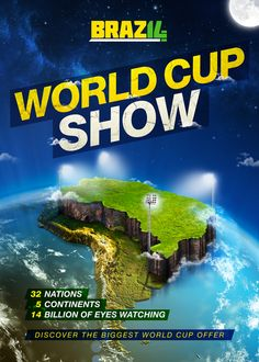 World Cup 2014 Campaign by E S, via Behance