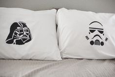 DIY star wars pillow cases <3