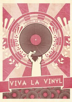 Retro Poster Illustrations by Nick Schmidt Poster Illustration Series. A well illustrated poster series by German graphic designer and illustrator Nick Schmidt. Vinyl Music, Vinyl Art, Vinyl Records, Poster Retro, Poster Art, Gig Poster, Dj Art, Logo Inspiration, Schmidt
