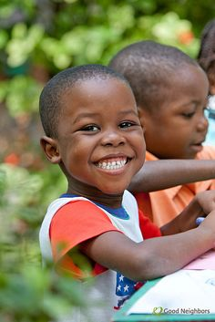Smiles from Haiti! http://goodneighbors.org/haiti-relief