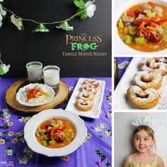 While I loved ourPirates of the Caribbean family movie night with it's assortment of Jamaican specialties, the movie is a tad on the scary side – so to balance things out, today we're sharing our Princess & the Frog family movie night menu and activities! Miss G and I have been loving our twice monthly [...]