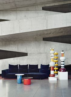 Le design italien en 8 decors exceptionnels Le brutalisme à l'italienne