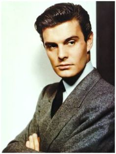 Louis Jourdan. So sexy. He fought the Germans in the French Resistance during WWII and then became a movie star.