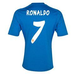 Maglia Calcio Ufficiale Real Madrid C.F bianca  CR7 Cristiano
