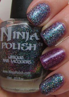 Adventures In Acetone: Ninja Polish Nebula!