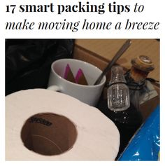 Moving home and dreading it?  See these 17 smart packing tips to make moving home a breeze: http://experthometips.com/2015/05/15/17-smart-packing-tips-to-make-moving-home-a-breeze/