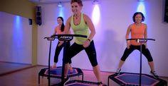 Der neue Trend: Jumping Fitness, Training auf dem Trampolin! Jetzt in Nürnberg - gleich anmelden!
