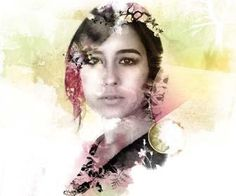 How to digitally mix watercolours and photos in Photoshop