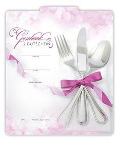 G224 Geschenkgutschein für die Gastronomiebranche, erhältlich auf www.geschenkgutschein.com Restaurants, Napkins, Tableware, Fine Dining, Gifts, Dinnerware, Towels, Dishes, Napkin