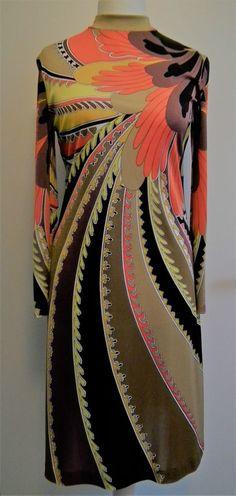 Nini Capucci Vintage Retro Kleid Original ca. 1970 TOP-Zustand einmal getragen in Kleidung & Accessoires, Vintage-Mode, Vintage-Mode für Damen | eBay!