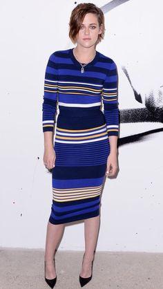 39c2f94d5f7d  KristenStewart Shows Her  Stripes in Torn by  RonnyKobo http   shuffleupon
