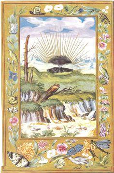 "Salomon Trismosin, Splendor Solis, ""Le Soleil noir"" (""The Black Sun"") 1582"