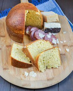 Crescia al Formaggio (Italian Easter Cheese Bread)