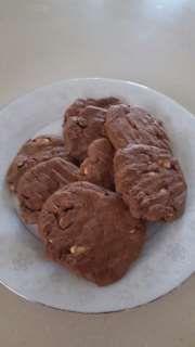 Peanut Brownie Biscuits recipe – All recipes Australia NZ Peanut Recipes, Gf Recipes, Brownie Recipes, Sweet Recipes, Cookie Recipes, Biscuit Cookies, Biscuit Recipe, Brownie Cookies, Cookies