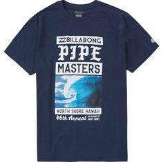 Pipe Masters Poster Tee   Billabong US