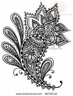 paisley tattoo designs women source http tattoostime com tattoos ...