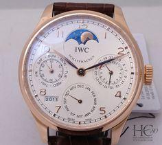 IWC Portuguese Perpetual Calendar (IW502306). Sale Price: $30,700 #iwc #watch #watches #luxury