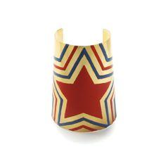 nOir Jewelry - Bracelets - Wonder Woman Enamel